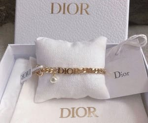 dior and gold image