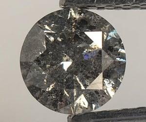 round diamond, round brilliant diamond, and rustic diamond image