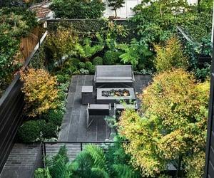 architecture, backyard, and california image