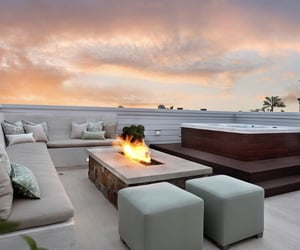 house, jacuzzi, and terrace image