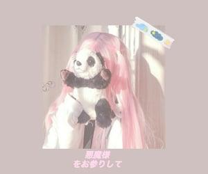 angel, pale, and panda image
