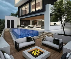 home, luxury, and exterior design image
