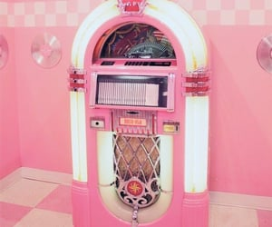 old, pink, and vintage image