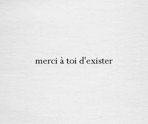 french, merci, and quotes image