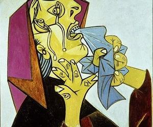Pablo Picasso, weeping woman, and la femme qui pleure image