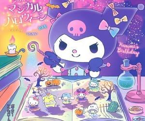sanrio, kuromi, and hello kitty image