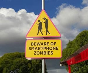 attention, beware, and sign image