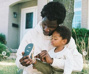 dad, father and son, and adonis bosso image
