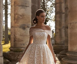 dresses, matrimonio, and abito da sposa image