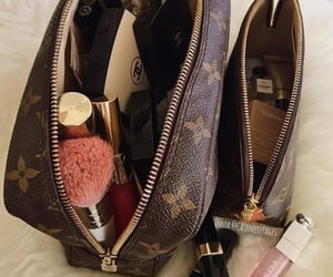 LV, pretty, and bags image