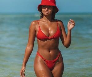 bikini, Girl Crush, and model image