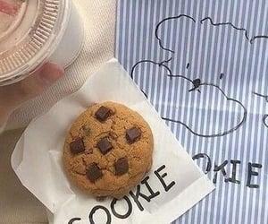 chocolate, coffee, and cookie image