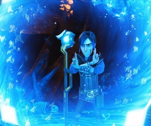 dreamworks, trollhunters, and wizards image