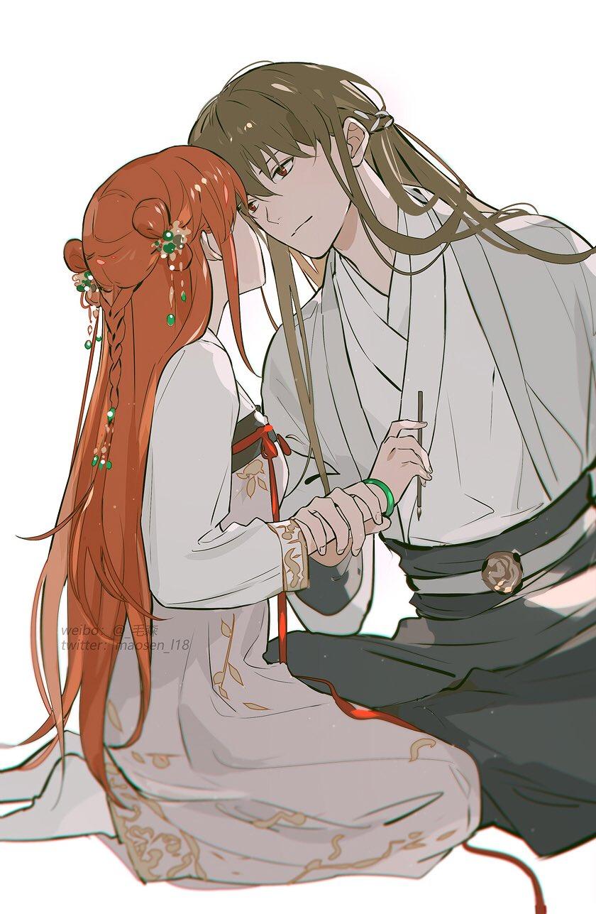 anime, anime couple, and anime romance image