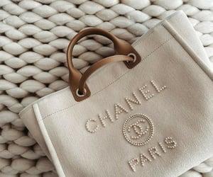 bag, stylish, and chanel image