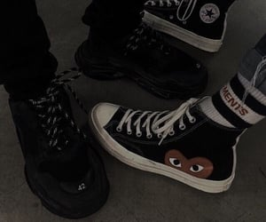 aesthetic, shoes, and grunge image