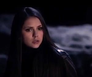 beautiful, brunette, and Nina Dobrev image
