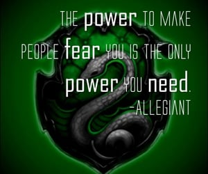 potter, draco, and slytherin image