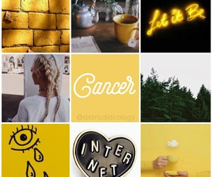 aesthetic, cancer, and july image