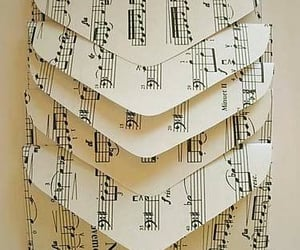 envelopes, notes, and music image