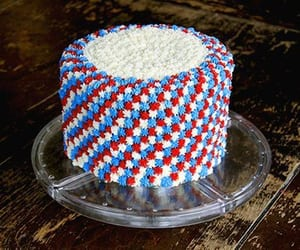 easy fourth of july cake image