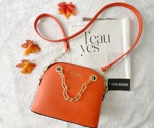 bag, fashion, and chain image