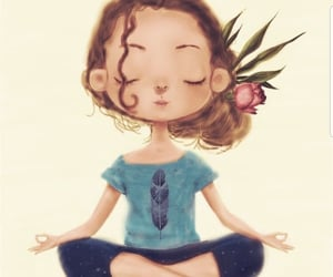 relax and yoga image