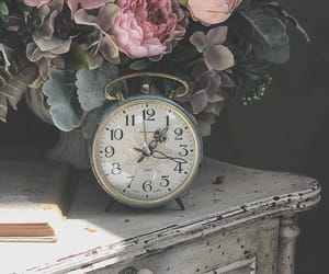 aesthetic, alice in wonderland, and clock image