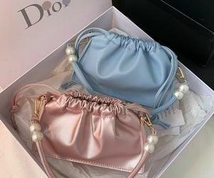 bag, dior, and blue image