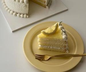 dessert, food, and lemon image