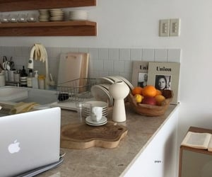 aesthetic, kitchen, and white image