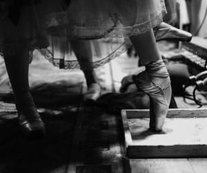 ballet, legs, and vintage image