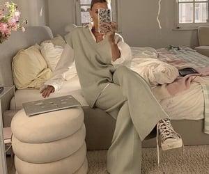 bedroom, fashion, and girl image