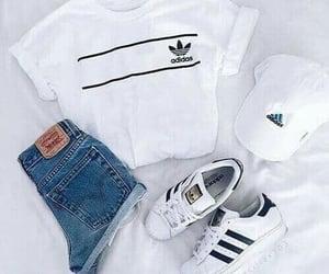 adidas, closet, and moda image