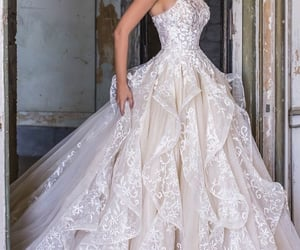 a-line, gorgeous, and ballgown image