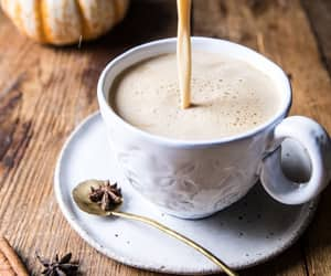 autumn, coffee, and drink image
