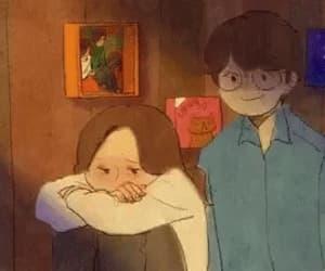 couple, love, and gif image