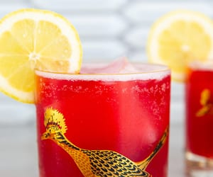 cranberry, recipe, and whiskey sour image