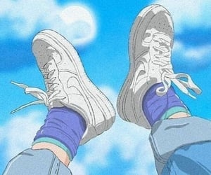 anime, aesthetic, and nike image