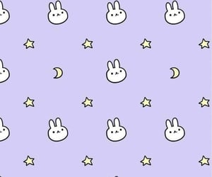 wallpaper, background, and bunny image
