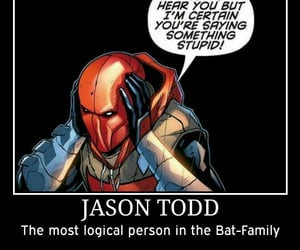 red hood, DC, and jason todd image