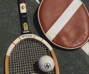chanel, racket, and sport image