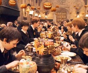 harry potter, Halloween, and autumn image