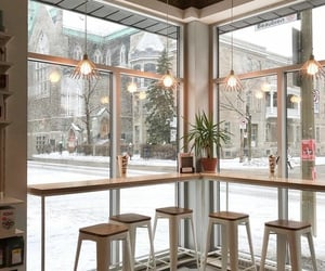 aesthetic, cafe, and christmas image