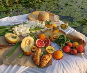 fruit, flowers, and food image