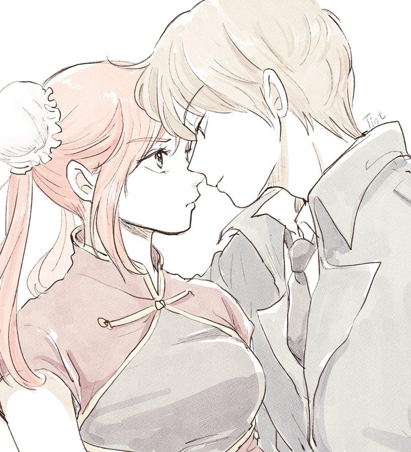 kagura, anime romance, and ️anime love image