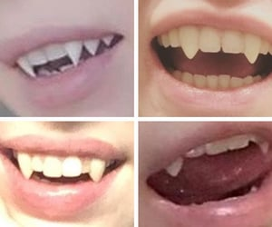 cute, teef, and weirdcore image