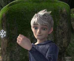 jack frost, rise of the guardians, and snowflake image