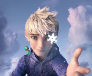 ice, jack frost, and rise of the guardians image
