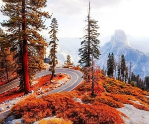 autumn, mountains, and nature image